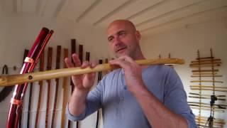 "Romanian Kaval (Caval) Tutorial ""lesson1"""