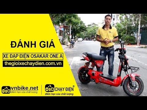 Đánh giá xe đạp điện Osakar One A