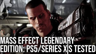 Mass Effect Legendary Edition: PS5 gegen Xbox Series X / S Tech Breakdown - 4K60 bei Next-Gen erreicht?