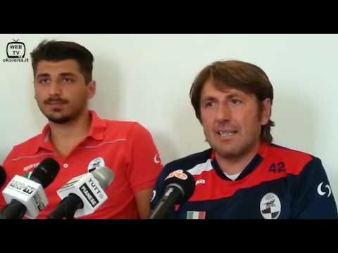 Presentazione Colella nuovo allenatore della Robur Siena - 2016