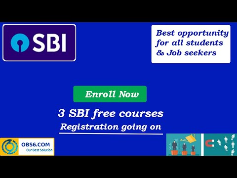 SBI launches 3 free online courses with certificate   MOOCs   EDX ...