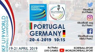 IKF U19 WKC 2019 POR – GER