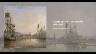 5 Songs, Op. 105