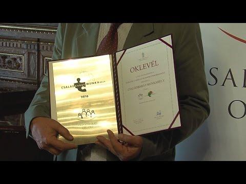 Családbarát munkahely díjátadó - video preview image