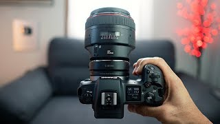 SONY USER tries the Canon EOS R + PHOTOSHOOT