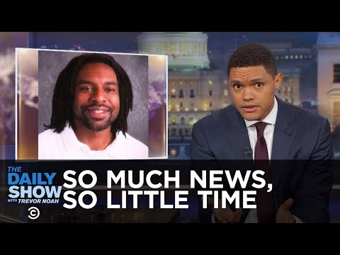 So Much News, So Little Time - NRA Silence on Philando Castile & Canceling Cuba: The Daily Show