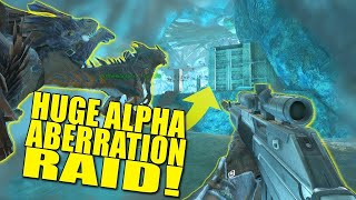 "RAIDING IN ABERRATION ""ALPHAS"" DAMNATION WIPED* (PVP) -Ark : Aberration -ep.1"