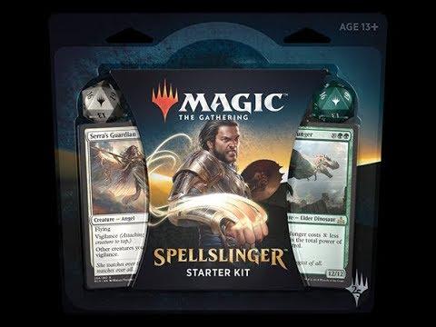 MTG - Spellslinger - Starter Kit - Unboxing