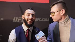 Dominick Reyes Shows Love  for His Fellow Mexican Fighters