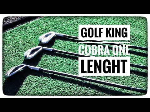 GOLF - Alle Golfschläger gleich lang, ist das DIE LÖSUNG? - ONE LENGHT KING COBRA IRONS