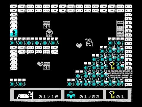 Rigor Mortis Walkthrough, ZX Spectrum