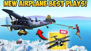 *NEW* SEASON 7 PLANE IS INSANE! - Fortnite Funny Fails and WTF Moments! #403