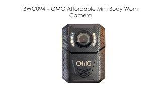 BWC094 – OMG 경제적 인 미니 바디웨어 카메라