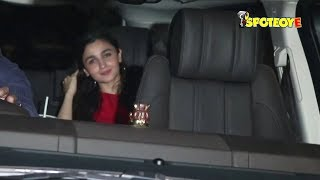 SPOTTED- Alia Bhatt, Sidharth Malhotra, Varun Dhawan at Sandeep Khosla's Party | SpotboyE