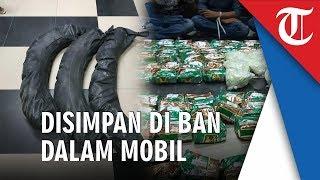 BNN Ungkap Sindikat Narkoba Jaringan Internasional, Barang Bukti Disimpan di Ban Dalam Mobil