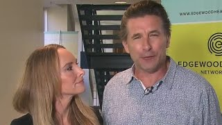 Billy Baldwin and Chynna Phillips talk mental health
