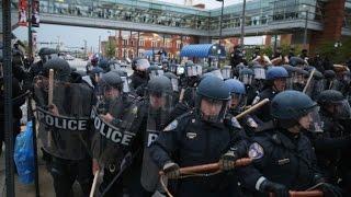 Freddie Gray protests get violent