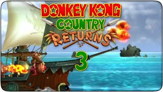 preview picture of video 'Donkey Kong Country Returns #03 - Barril cohete'