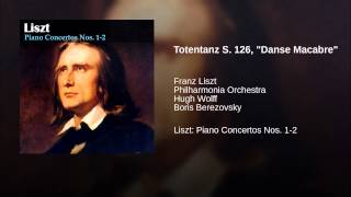 "Totentanz S. 126, ""Danse Macabre"""
