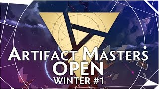 Artifact Masters Open Winter #1 - Плей-Офф День 1 + Розыгрыш