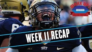 Wake Up College Football - Week 11 Recap thumbnail