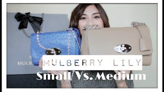 05a30c1dd45 official zigzag lily bag. mulberry 8384b bbe69  uk mulberry lily size  comparison small vs. medium minimaliststyling c557b a7541