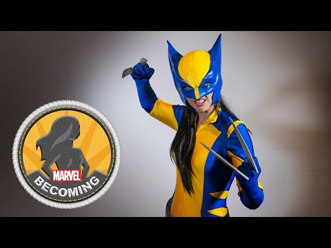 Cosplayer Amanda Lynne Shafer becomes Wolverine