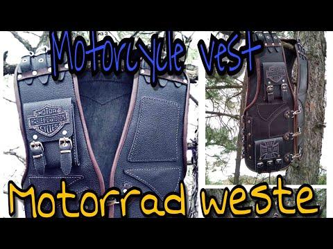 Motorradweste /  Motorcycle vest HARLEY / Мотоциклетный жилет / COOL DESIGN