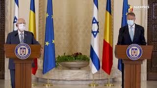 Iohannis: Între România şi Israel există relaţii privilegiate cu caracter strategic