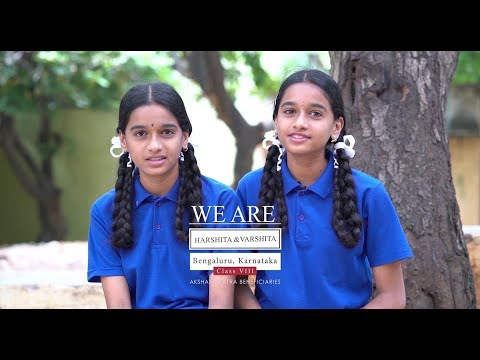 We are Harshita & Varshita | Bengaluru