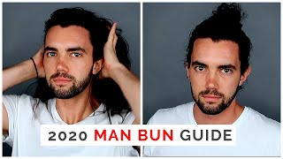 THE 2020 Man Bun Tutorial Guide: How To Grow And Wear, Pros/Cons, And Different Man Bun Styles