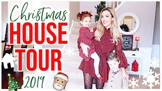 NEW CHRISTMAS HOUSE TOUR 2019! HOLIDAY HOME DECOR ENTIRE HOUSE TOUR + HOMEMAKING INSPO   Brianna K