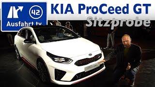 2018 KIA ProCeed GT / 2018 Kia Ceed GT - Weltpremiere, Sitzprobe, kein Test, erste Vorstellung