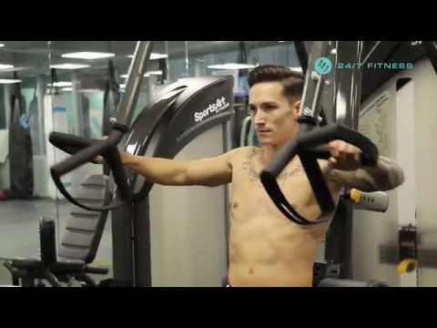 誠邀你與奧運男神阮馬素一同體驗24/7 Fitness先進環保的健身設施!