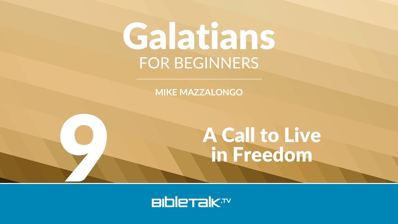 A Call to Live in Freedom