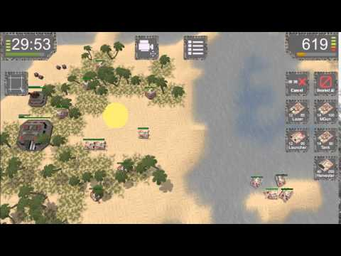 Project RTS - 3D RTS on Android. Mission Archipelago