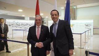 Встреча министров иностранных дел Армении и Кипра