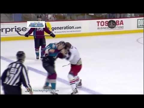 Jamie McGinn vs. Brandon Dubinsky