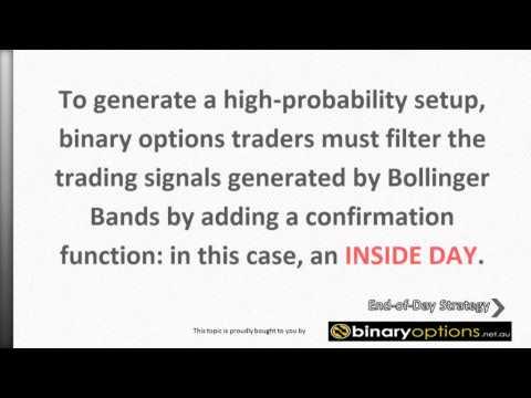Keltner channels for binary options