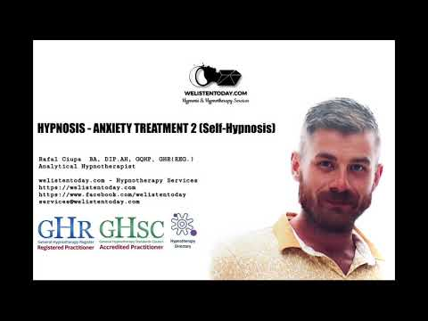 Anxiety Treatment part 2 (Free hypnotherapy treatment for Anxiety)