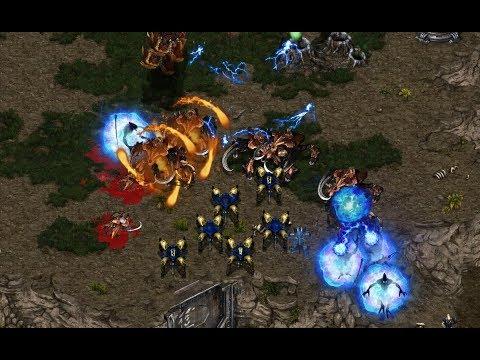 Squall (Z) v WhiteRa (P) on Fighting Spirit - StarCraft  - Brood War REMASTERED