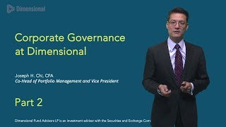 Joe Chi on Corporate Governance: Part Two - Show 252