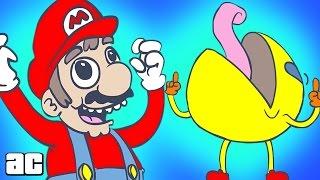 ► Марио и Пак-Мен обсуждают тёлочек ◄ Mario and Pac-Man Discuss