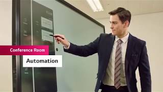 Optimizing Your Corporate Conference Rooms with LG