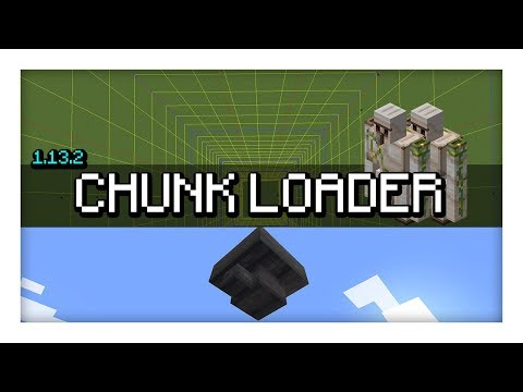 [Tutorial] Simple Chunk Loading Setup | 1.13 - 1.13.2