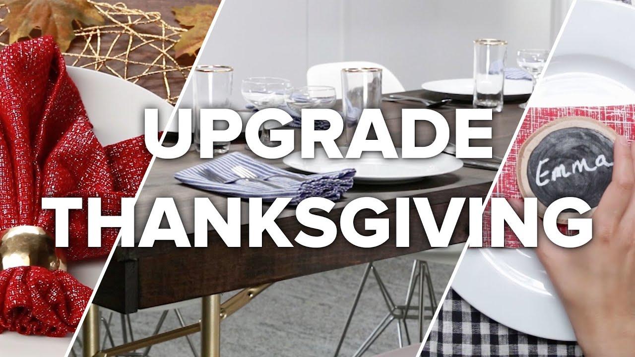 7 Ways To Upgrade Thanksgiving (That Aren't Food) thumbnail
