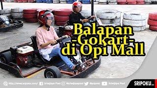 Serunya Balapan Gokart di Rooftop OPI Mall Jakabaring Palembang