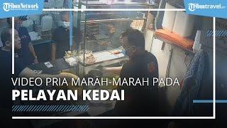 Viral Video Pria Marah dan Lempar Piring ke Pelayan Kedai, Kesal dengan Harga Tambahan Daging Ayam