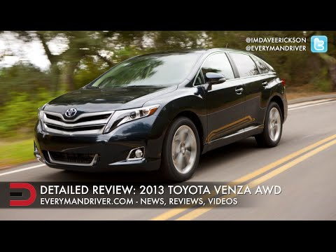2013 Toyota Venza Crossover SUV Review