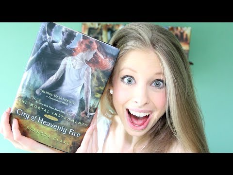 CITY OF HEAVENLY FIRE BY CASSANDRA CLARE | booktalk with XTINEMAY